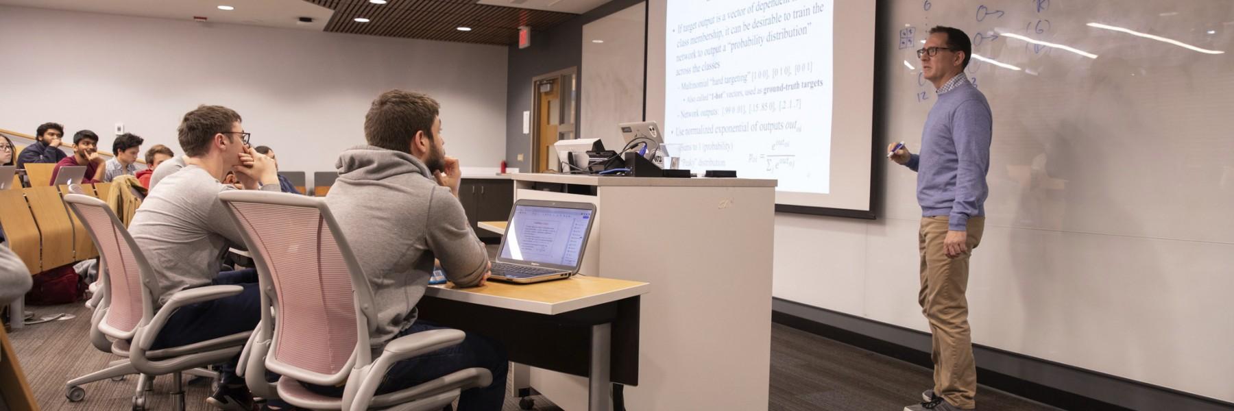 Jim Davis teaching a class at Ohio State